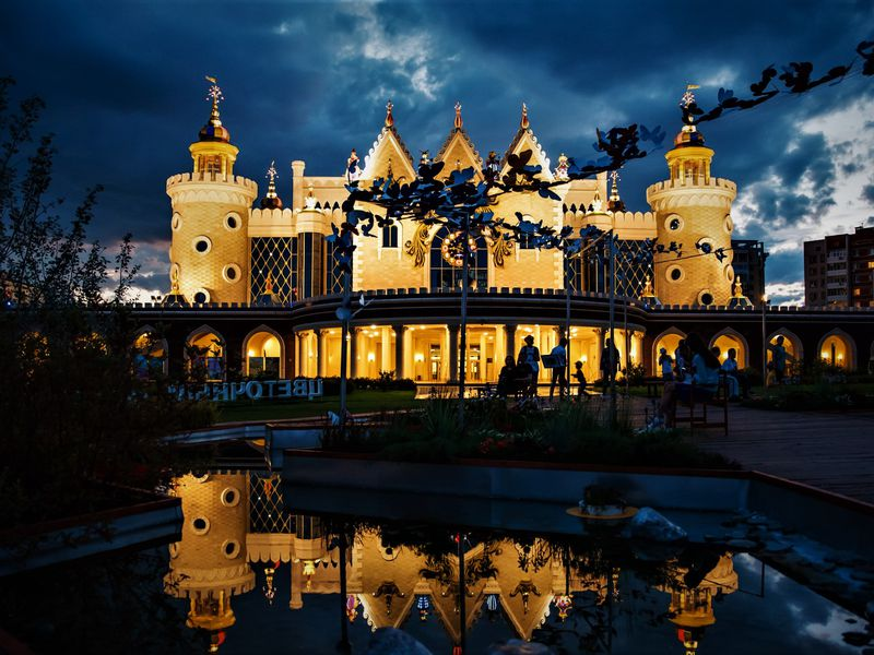 Загадочная Казань после заката - экскурсия в Казани