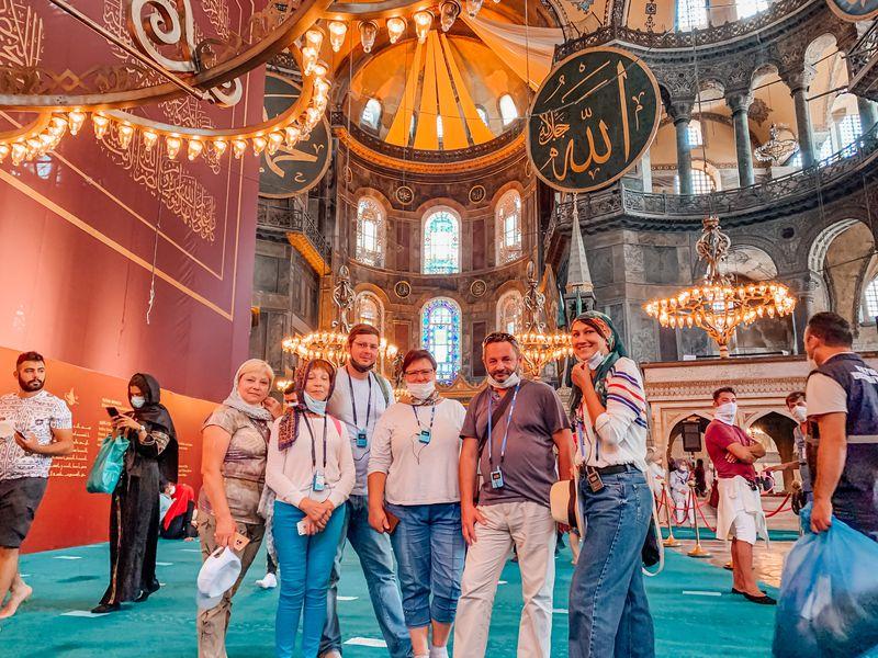 Все дороги ведут в Стамбул - экскурсия в Стамбуле