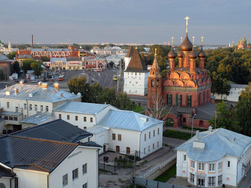 Ярославль — история и современность - экскурсия в Ярославле