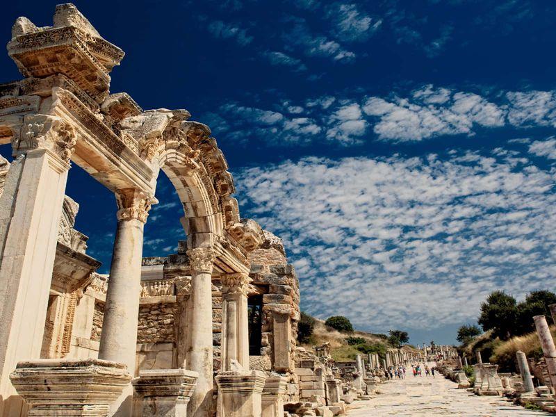 Групповая экскурсия изБодрума вэллинистический Эфес - экскурсия в Бодруме