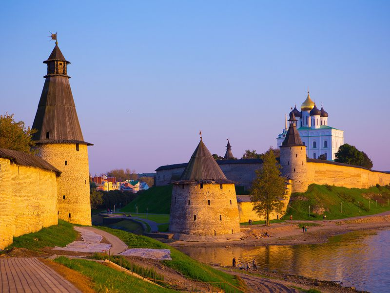 Яркая история большого Пскова - экскурсия в Пскове