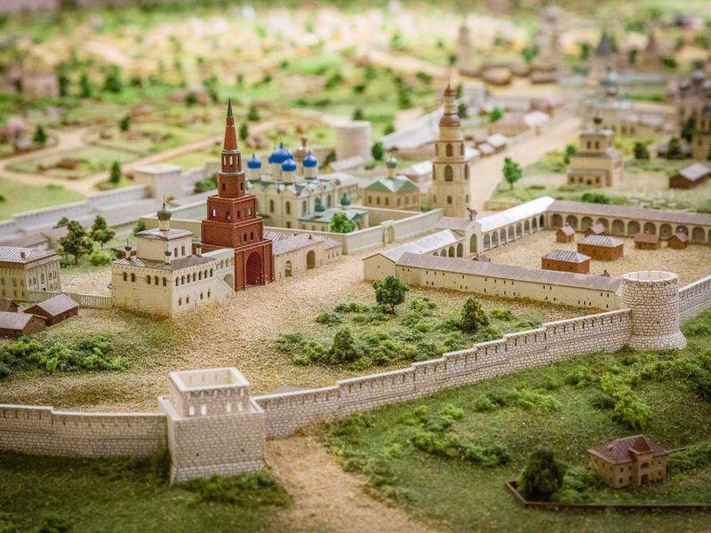 Казань вминиатюре - экскурсия в Казани