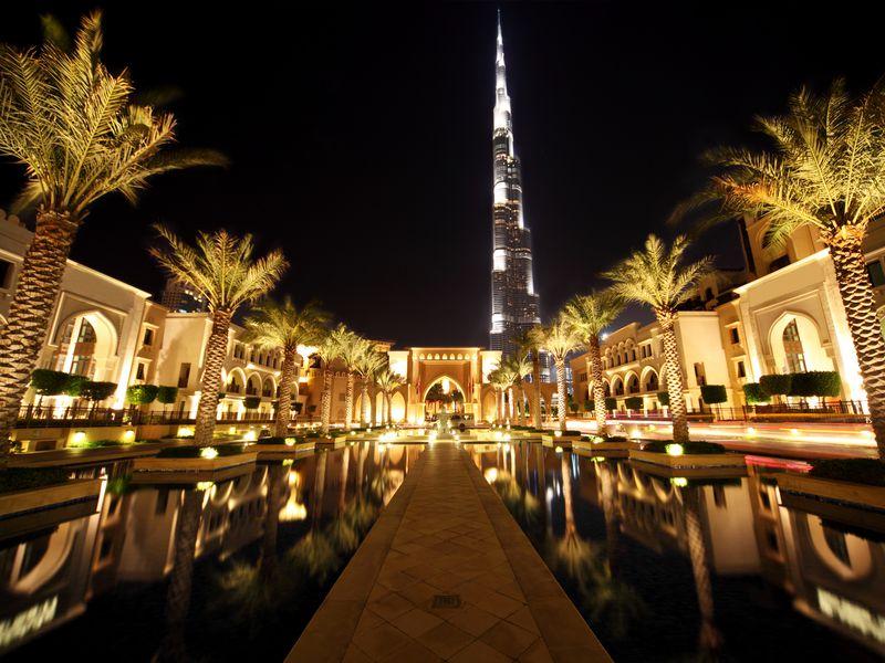 Ночной Дубай: обзорная экскурсия и прогулка на катере - экскурсия в Дубае