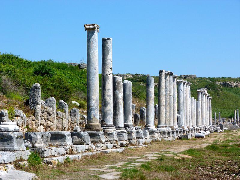 Из Антальи — в Перге, Аспендос и Куршунлу - экскурсия в Анталии