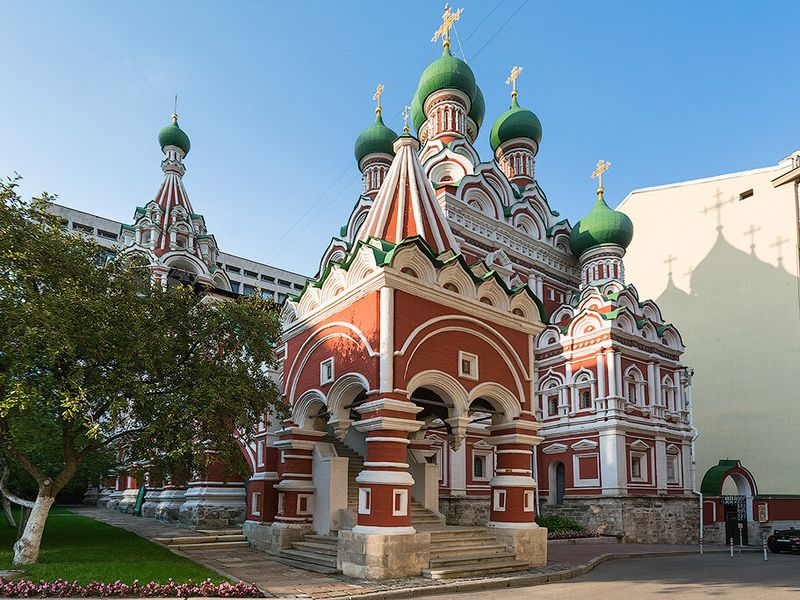 Лабиринт улиц ипереулков Китай-города - экскурсия в Москве