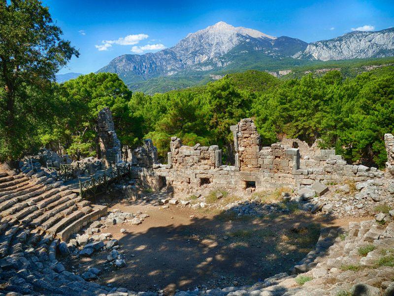 Фаселис и гора Тахталы - экскурсия в Анталии