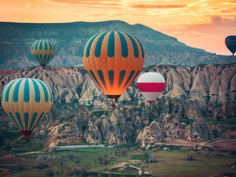 Волшебный уикенд вКаппадокии - экскурсия в Стамбуле