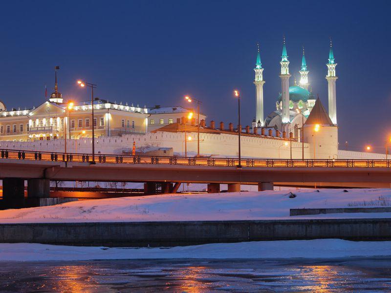 Волшебство вечерней Казани - экскурсия в Казани