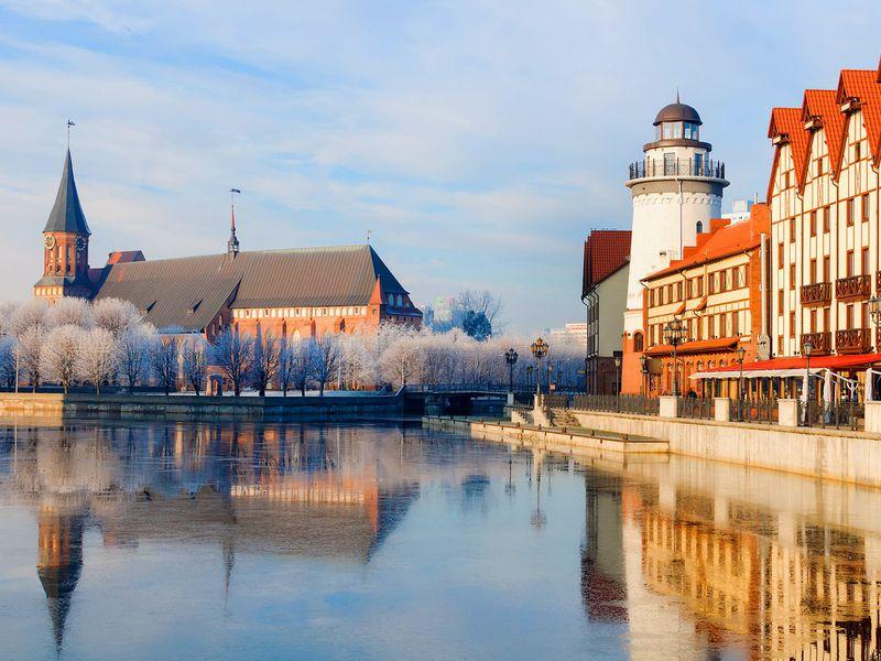 От Кенигсберга до Калининграда - экскурсия в Калининграде