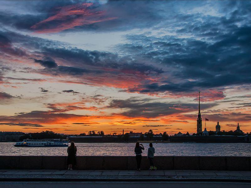 Чарующее сияние ночного Петербурга - экскурсия в Санкт-Петербурге