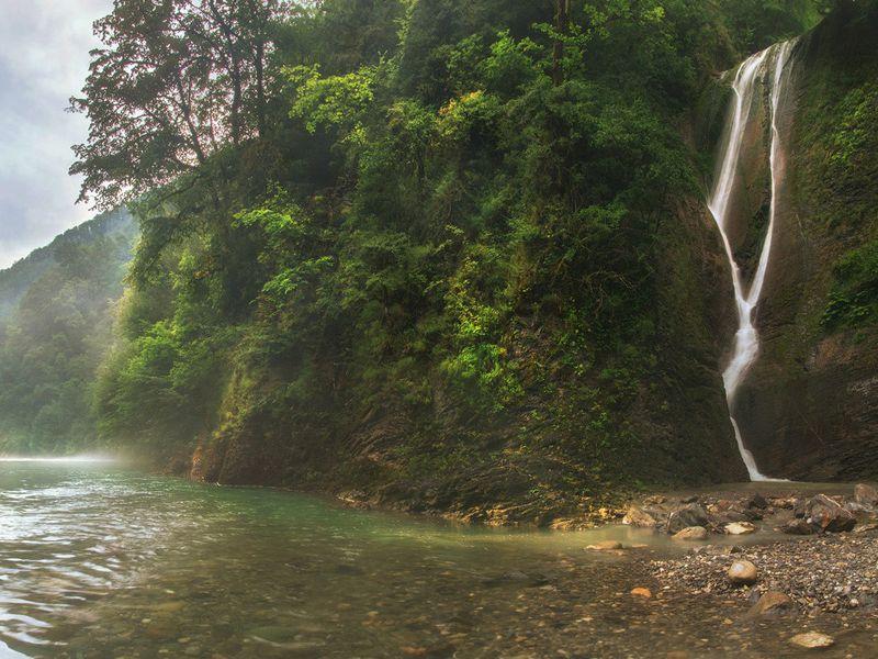 Сочинский топ: от водопада до променада - экскурсия в Сочи