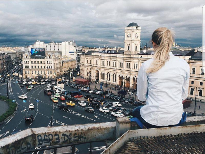 От крыши к крыше в центре Петербурга - экскурсия в Санкт-Петербурге