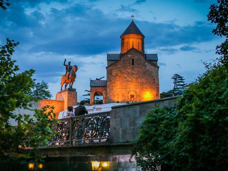 Пешеходная экскурсия по Тбилиси - экскурсия в Тбилиси