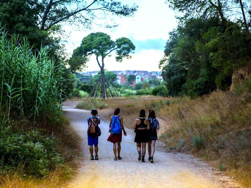 Хайкинг вприродном парке Кольсерола - экскурсия в Барселоне