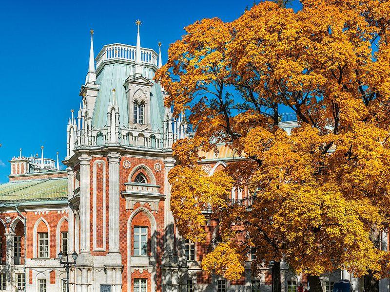 Усадьба Царицыно иеётайны - экскурсия в Москве