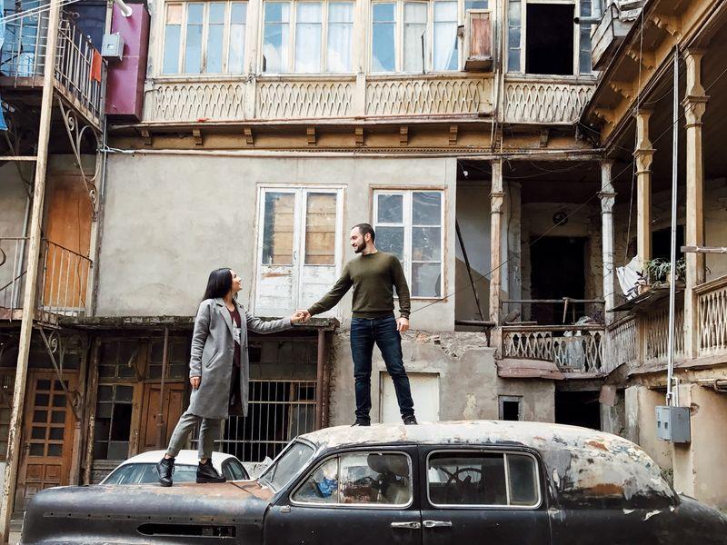 Инста-прогулка по неизведанному Тбилиси - экскурсия в Тбилиси