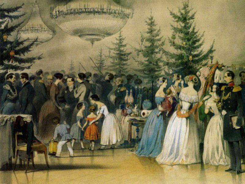 Рождество в Эрмитаже - экскурсия в Санкт-Петербурге
