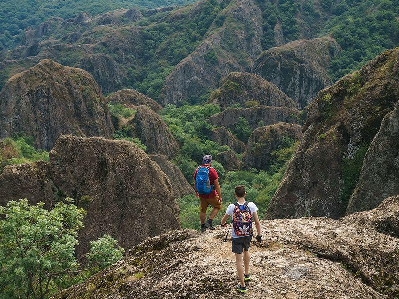 Поход вБиртвисские каньоны - экскурсия в Тбилиси