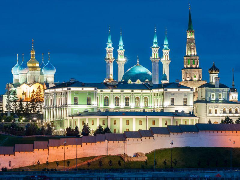Вечерняя Казань вчера исегодня - экскурсия в Казани