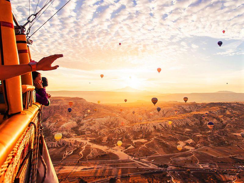 Полет мечты над Каппадокией! - экскурсия в Каппадокии