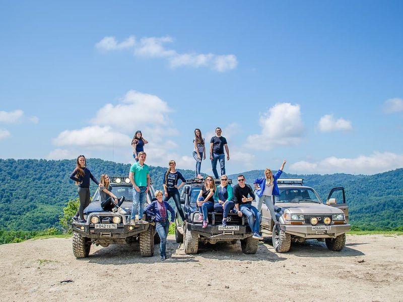 Джип-тур на каньоны реки Псахо - экскурсия в Адлере