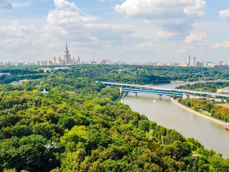 Воробьевы горы— знаменитые холмы Москвы - экскурсия в Москве