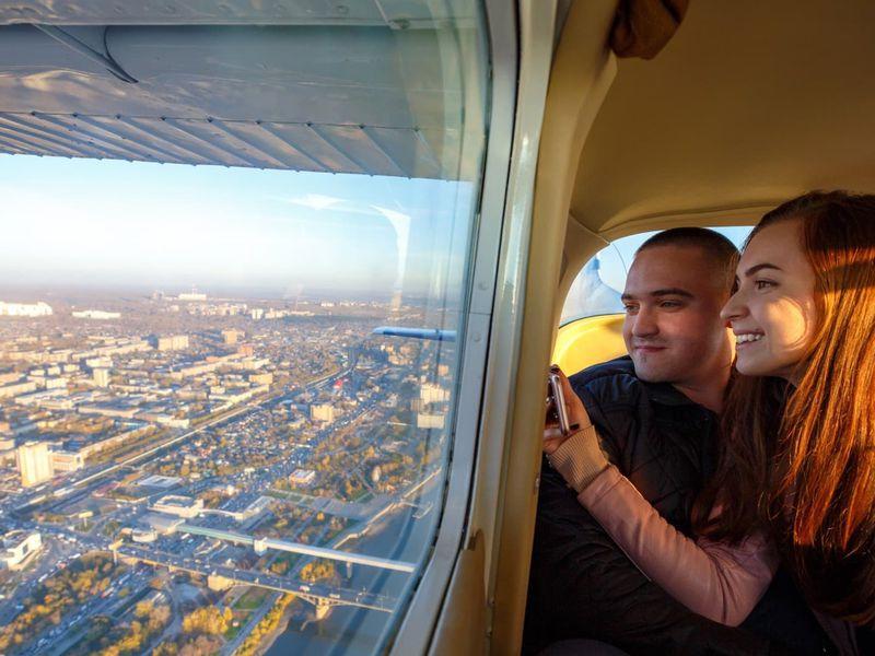 Полёт над Москвой на самолёте! - экскурсия в Москве