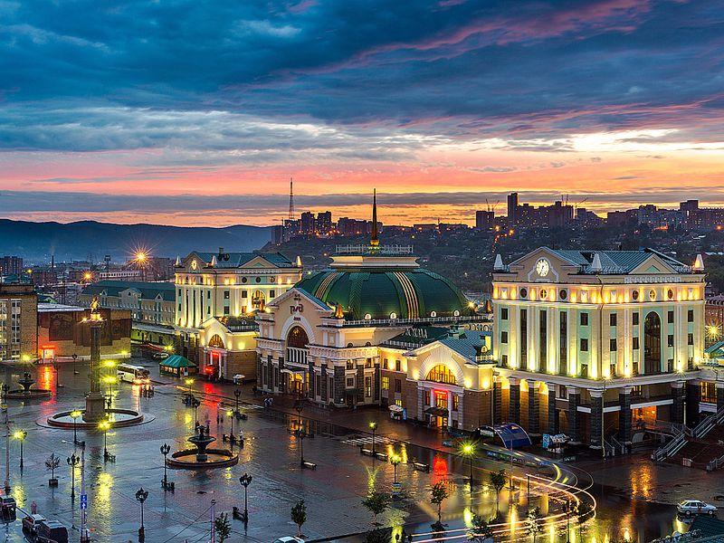 Добро пожаловать в Красноярск! - экскурсия в Красноярске