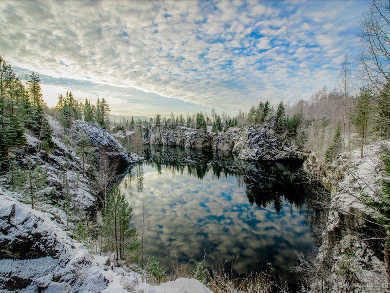 Рускеала, Белые мосты идругие водопады Южной Карелии - экскурсия в Сортавале