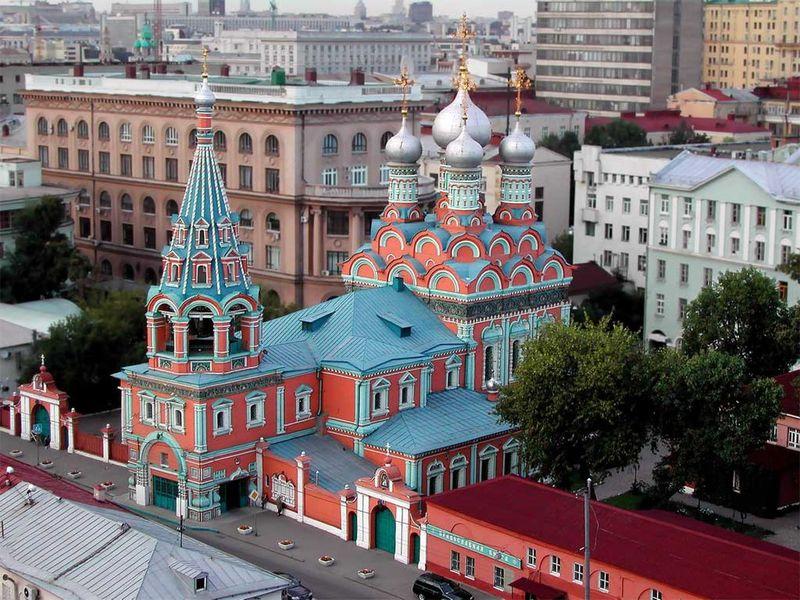 По старинным улицам Москвы - экскурсия в Москве