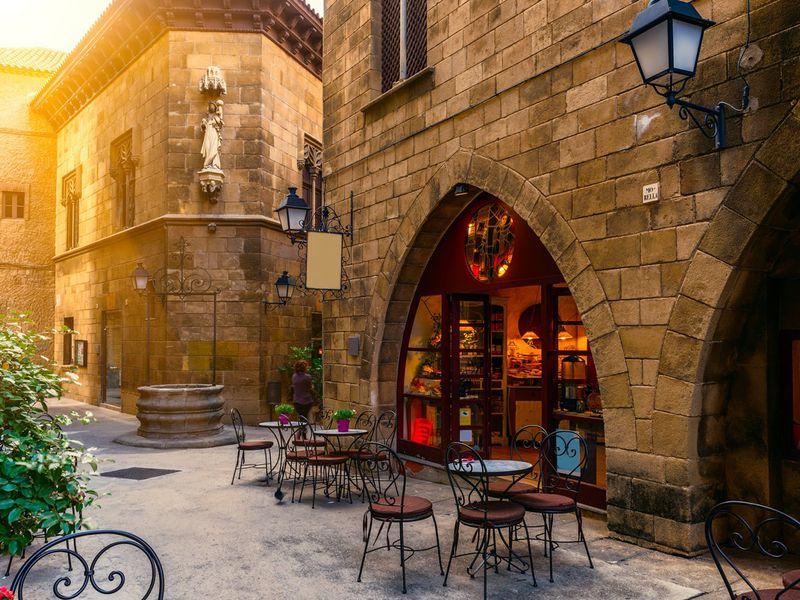 Туда иобратно: отРимской эры до Барселоны XXIвека - экскурсия в Барселоне
