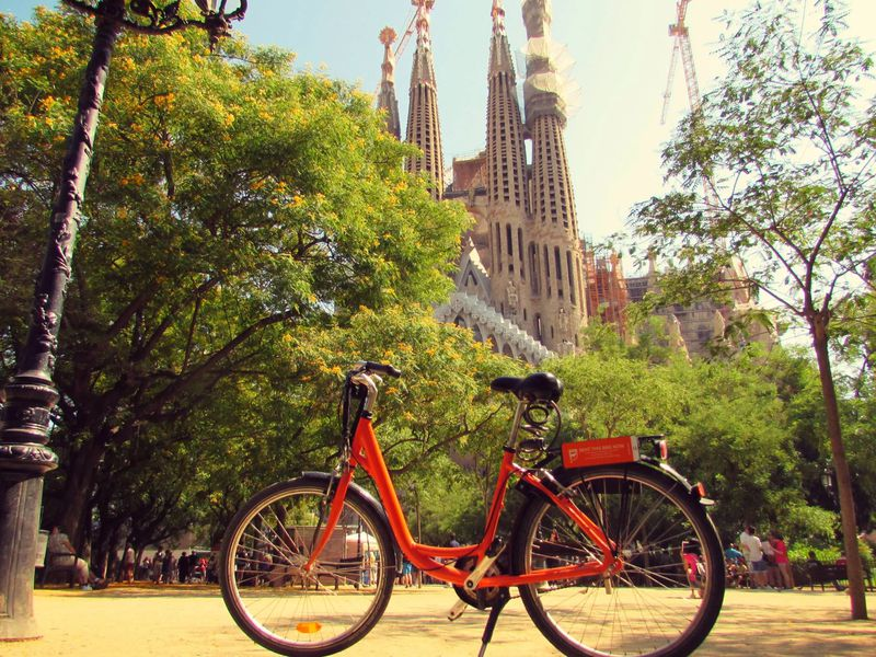 Велокалейдоскоп в Барселоне - экскурсия в Барселоне