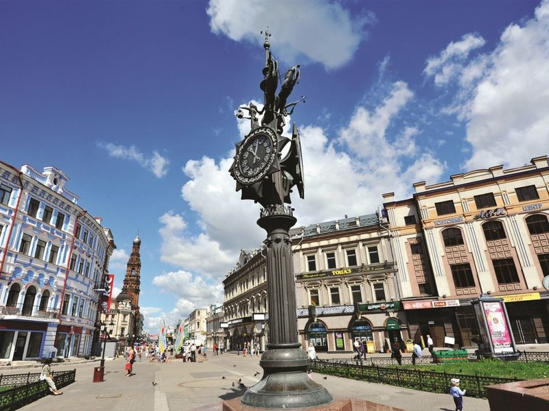 Показанскому «Арбату» и«Невскому» - экскурсия в Казани
