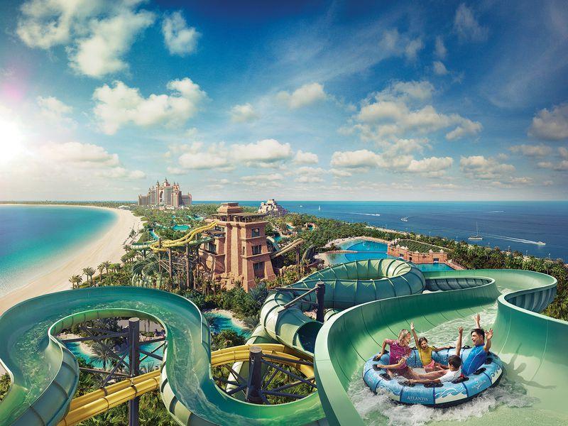 Аквапарк Aquaventure + трансфер - экскурсия в Дубае