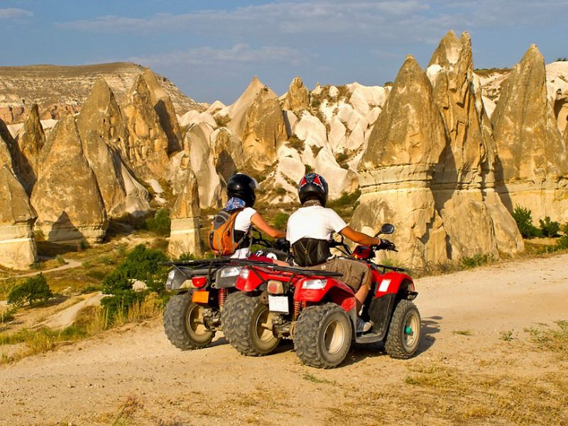 Каппадокия — на квадроциклах за закатом! - экскурсия в Каппадокии