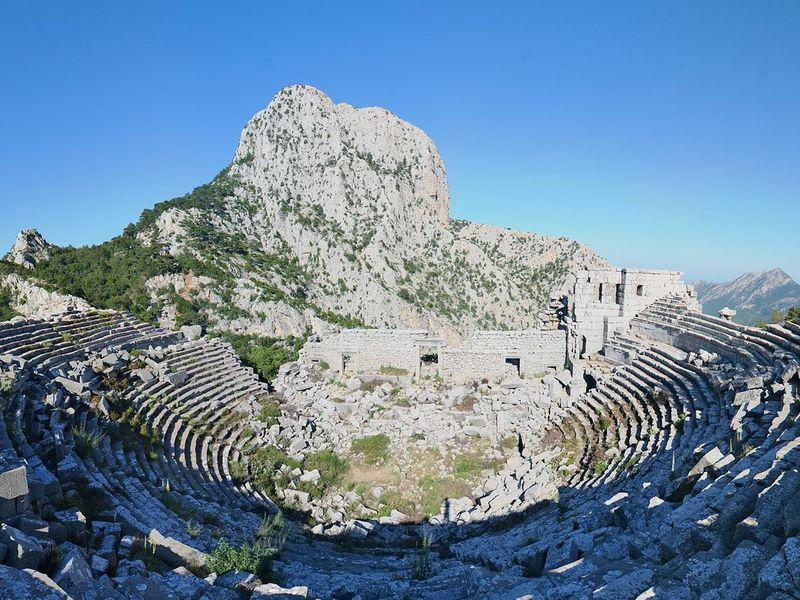 Живописное путешествие в древний город Термессос - экскурсия в Анталии