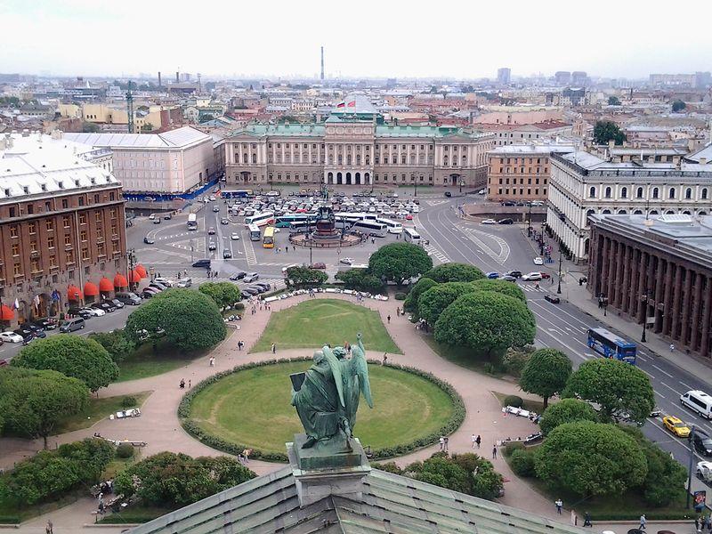 История трех старейших площадей Петербурга - экскурсия в Санкт-Петербурге