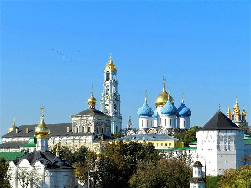 Из Москвы в Сергиев Посад — по древнему Троицкому тракту - экскурсия в Москве