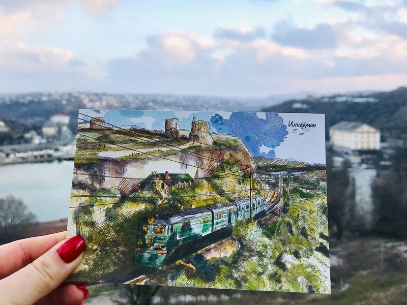 Старейшина накарте Крыма: Инкерман - экскурсия в Севастополе