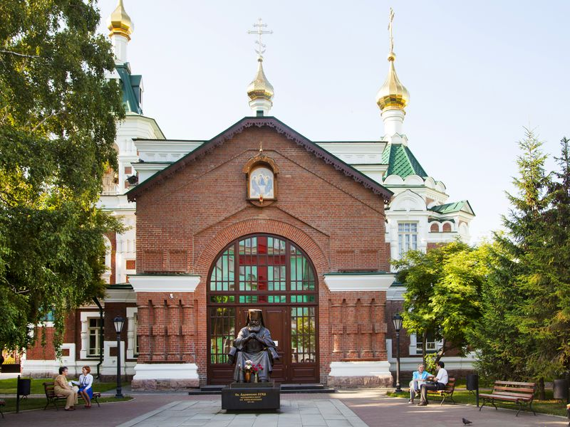 Главные святыни Красноярска - экскурсия в Красноярске
