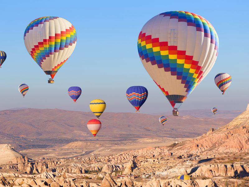 Каппадокия: рассвет на воздушном шаре - экскурсия в Каппадокии