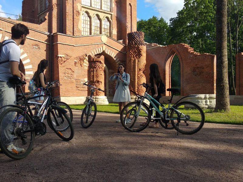 Велоэкскурсия поЦарскому Селу - экскурсия в Пушкине