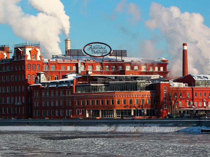 Красный Октябрь»: шоколад, стрит-арт ипанорамы скрыши - экскурсия в Москве