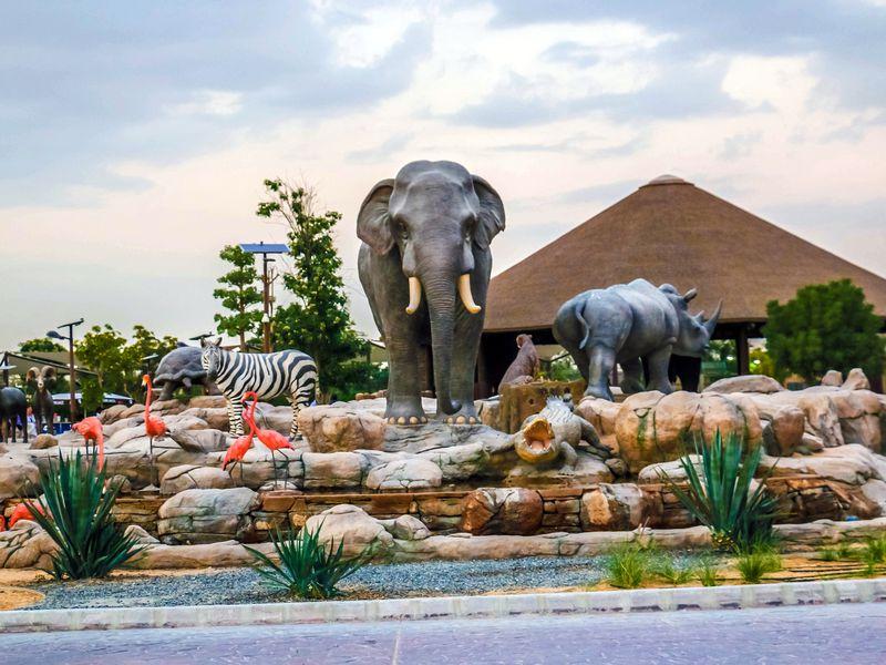 Дубай Сафари-парк: групповая поездка в мир животных - экскурсия в Дубае