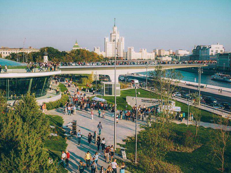 Москва: от Кремля до Зарядья - экскурсия в Москве
