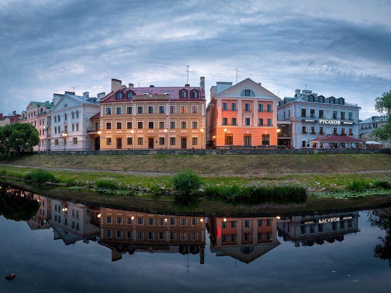 Тихое Запсковье - экскурсия в Пскове