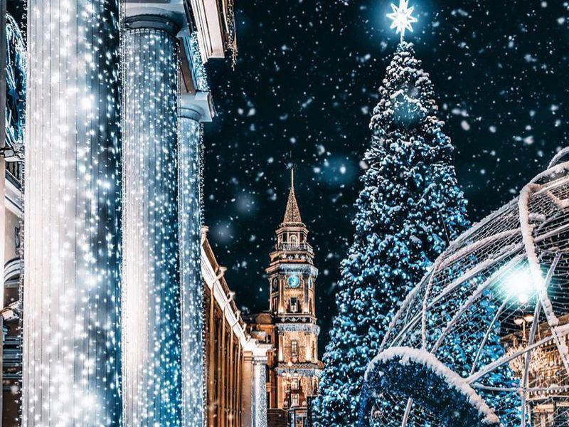 Авто-путешествие и фотосъемка в новогоднем Петербурге - экскурсия в Санкт-Петербурге