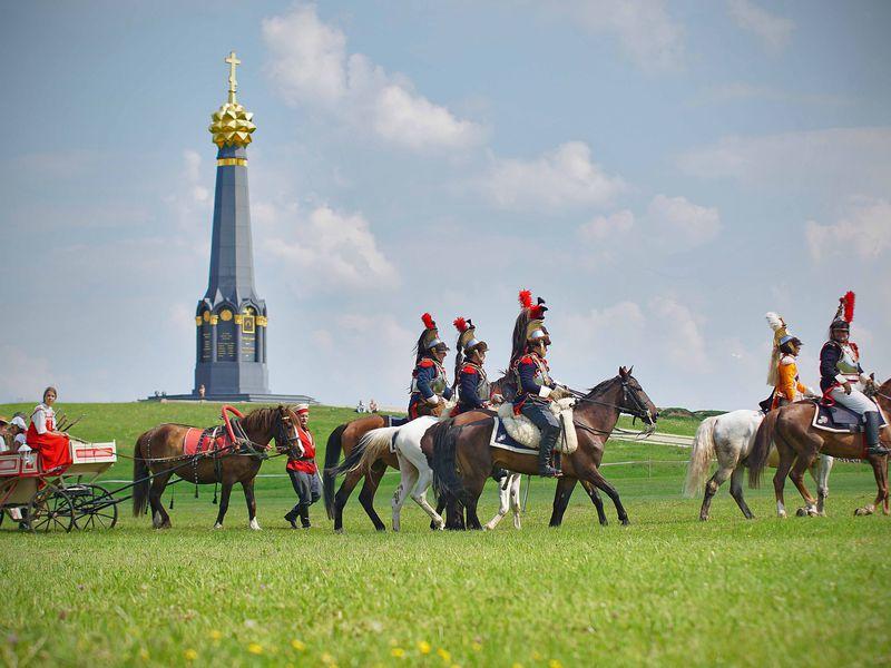 На поле Бородинском... - экскурсия в Можайске