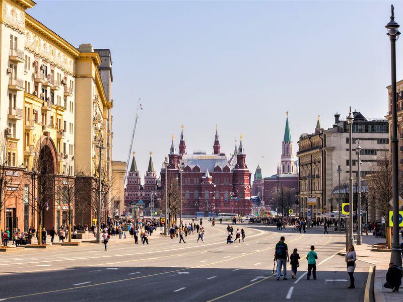 Экскурсия по Тверской улице для школьников - экскурсия в Москве
