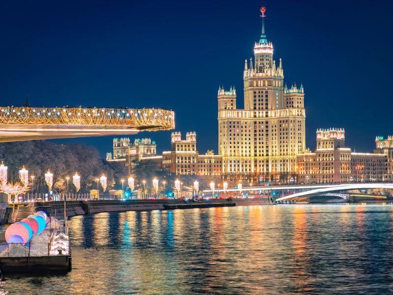 Москва Панорамная - экскурсия в Москве